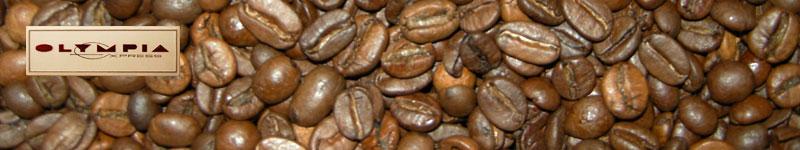 Kaffeebohnen für Olympia